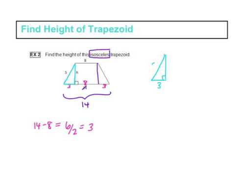 Find Height of Trapezoid