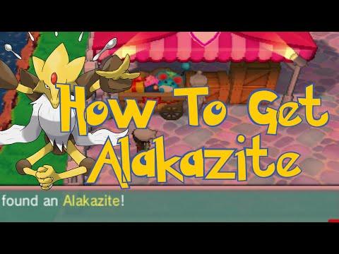 Pokemon Omega Ruby & Alpha Sapphire Tips : How To Get  Mega Stone Alakazite Location