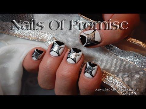 Sliver Splash Live Nail Art Tutorial. Nails Of Promise.