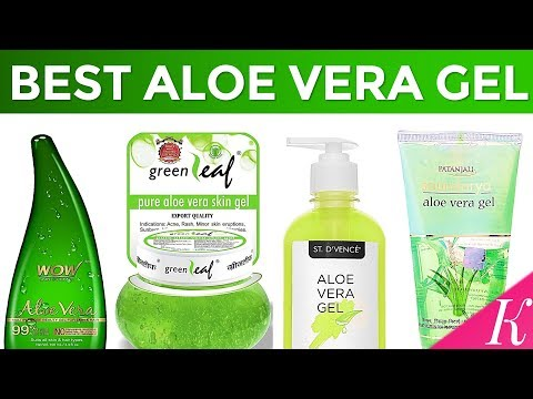 10 Best Aloe Vera Gel for Skin in India with Price - Summer Special