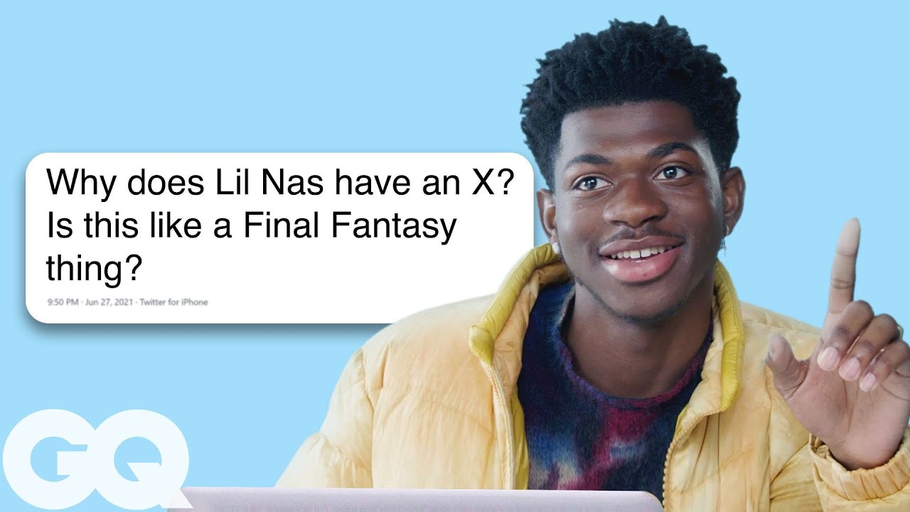 Lil Nas X Goes Undercover on Reddit, Twitter and Instagram   GQ