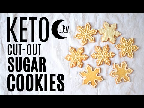 Keto Cut-Out Sugar Cookies | + Keto Royal Icing Recipe