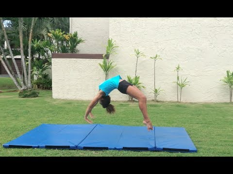 How to Do a Back Handspring For Beginners