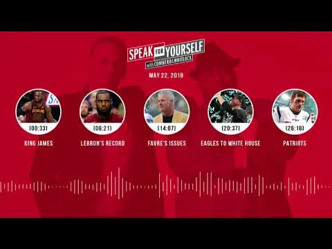 SPEAK FOR YOURSELF Audio Podcast (5.22.18) with Colin Cowherd, Jason Whitlock | SPEAK FOR YOURSELF