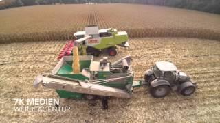 Kartoffeln roden 2015 mit Grimme Roder SE 85-55