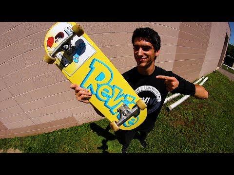 MY NEW FAVORITE SKATEBOARD *New Board Size*