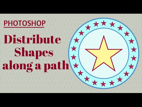 Distribute Shapes Evenly for Graphics and Logos in Adobe Photoshop