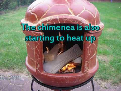 How to Start a Fire in a Chimenea