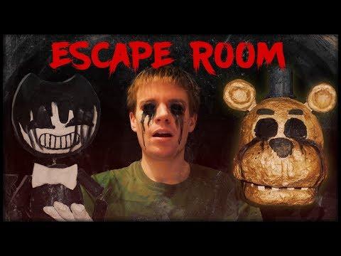 BENDY'S NIGHTMARE ESCAPE ROOM!