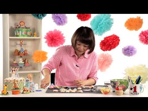 How to Make a Baby Cake Topper