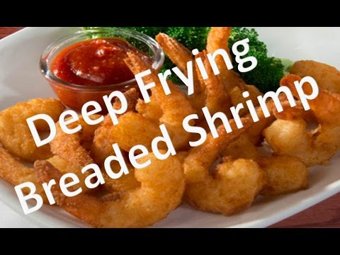 Deep frying breaded shrimp - how to deep fried shrimp | fried shrimps recipe