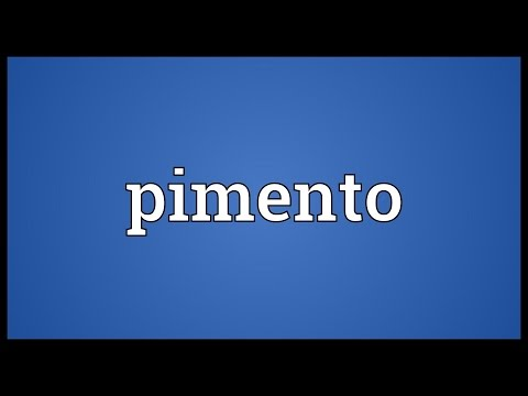 Pimento Meaning