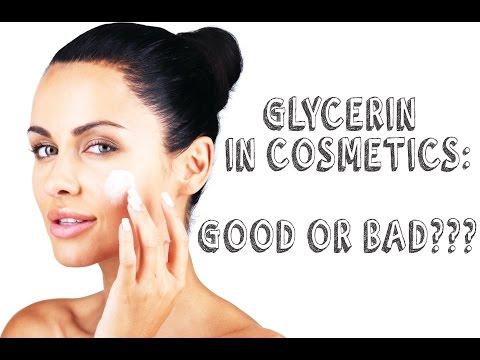 GLYCERIN in Cosmetics: Good or Bad?