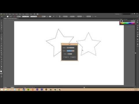 Adobe Illustrator CS6 for Beginners   Tutorial 22   Creating Polygons and Stars   YouTube