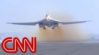 Russian bomber touches down on America's doorstep