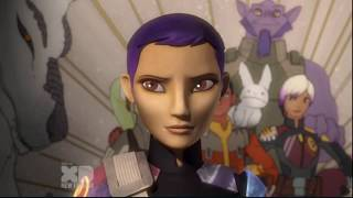 Zeb finds Baby Pypey and is hunted by the Inquisitor's] Star