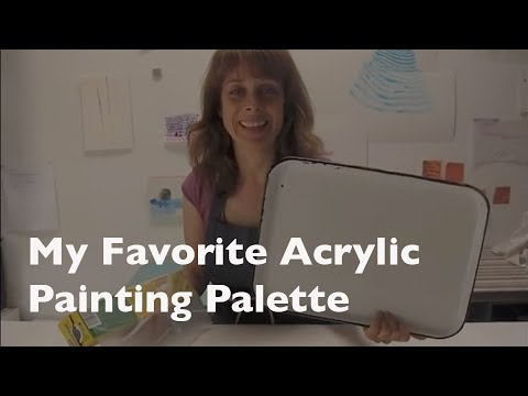 How to Save Acrylic Paint for Re-use