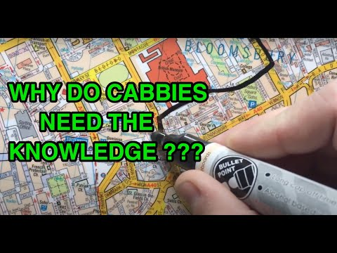 Why do London cabbies need The Knowledge?
