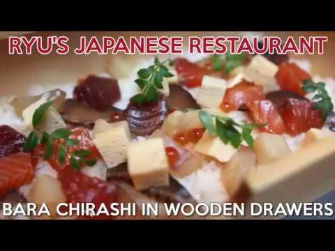 Ryu's Japanese Restaurant - First Okamochi Chirashi Don In Singapore