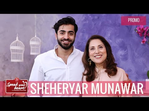 Sheheryar Munawar Relives His Childhood | 7 Din Mohabbat In | Speak Your Heart With Samina Peerzada