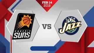 Phoenix Suns vs. Utah Jazz - February 14, 2018