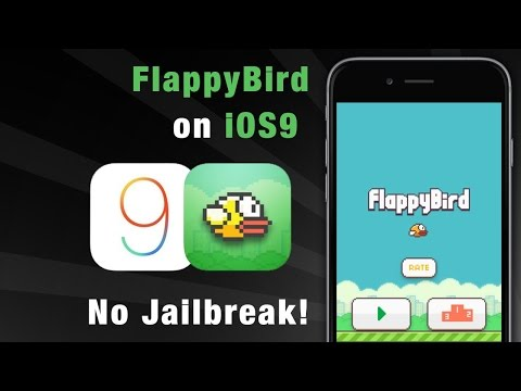 How to get *flappy bird* IOS 9