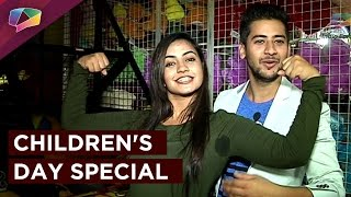 Paras Arora and Meera Deosthale celebrate Children's Day