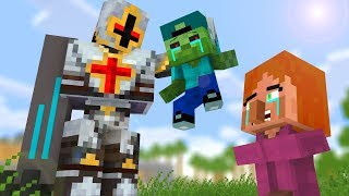 Zombie vs Villager Life - Craftronix Minecraft Animation