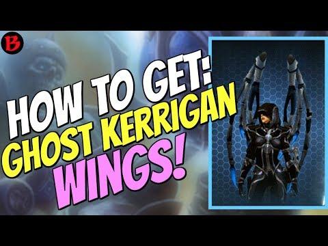 How to get Ghost Kerrigan Wings in Diablo 3 Patch 2.6