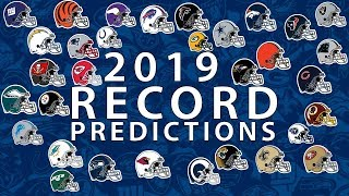 Predicting Every Team's 2019 Record