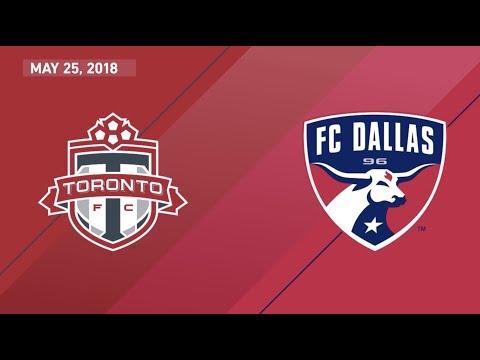 HIGHLIGHTS: Toronto FC vs. FC Dallas | May 25, 2018