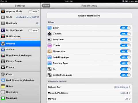 Restriction Settings on the iPad.mp4