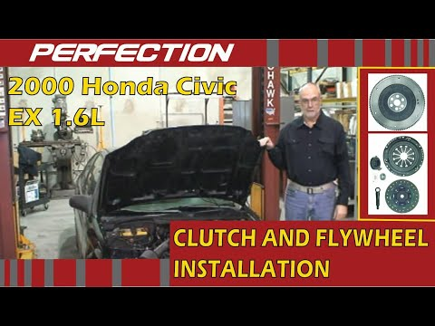 2000 Honda Civic EX 1.6L Clutch and Flywheel System Installation