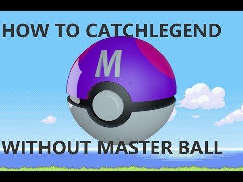 FoxPandaTV How to catch Legendary Pokemon without using MASTER BALL
