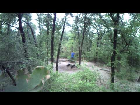 Texas Hog Bowhunting Epic Cam Mounted on Bow Riser (watch in 720)