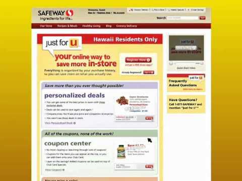 Safeway Just For U