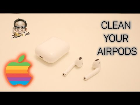 Clean your AirPods the right way!!!