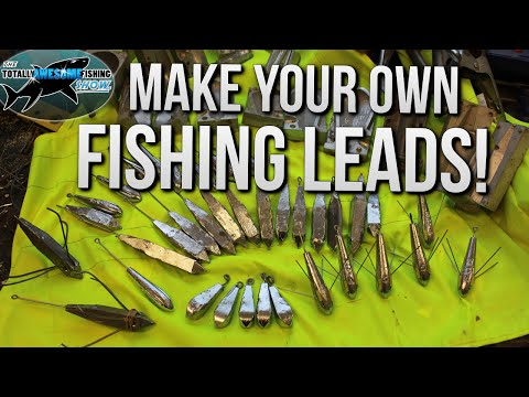Make your own Fishing Leads/Sinkers and Save Money! | TAFishing