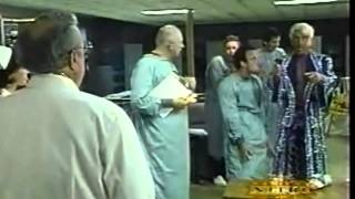 Ric Flair going nuts in a mental hospital