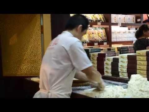 Making Almond Cookies