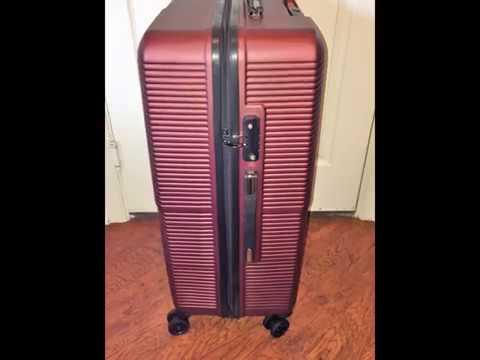 City Traveler Lightweight Anti-scratch Luggage