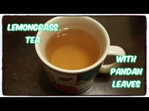 How to make Lemongrass Tea with Pandan Leaves 🇹🇭