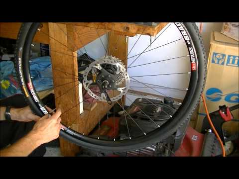 How to Mount Difficult Bicycle Tires as Tubeless
