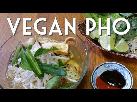 VEGAN PHO Vietnamese Noodle Soup RECIPE