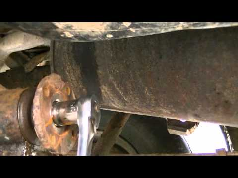 Replacing a Differential (rear end) Seal