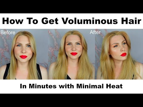 How I Get Volume with Flat, Fine Hair