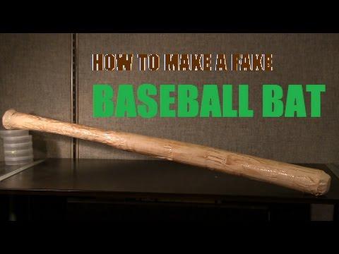How to Make a Prop Baseball Bat