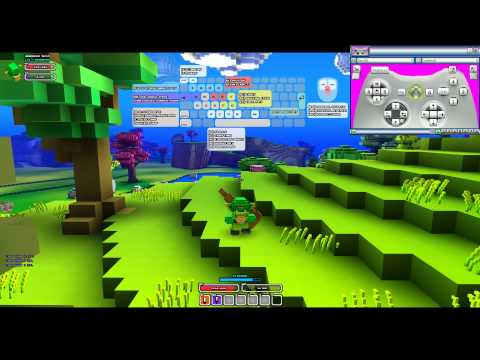 How to play CubeWorld with a GamePad