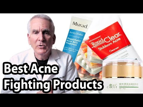 4 BEST Acne Fighting Products || Remove Blackheads, Cystic Acne, Papules, Pimples Easy on face