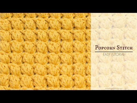 How To: Crochet The Popcorn Stitch | Easy Tutorial by Hopeful Honey
